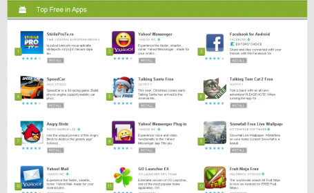 StirileProTV.ro in Android Market