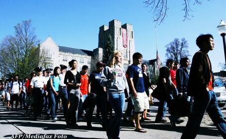 campusul universitatii Virginia tech