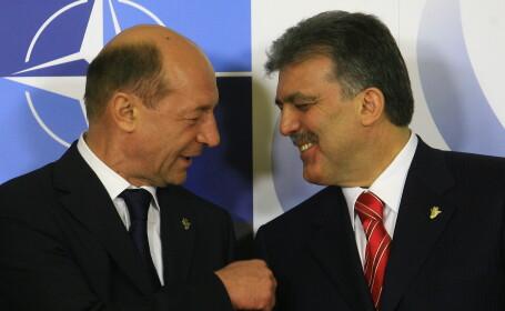 Traian Basescu si Tayyp Erdogan