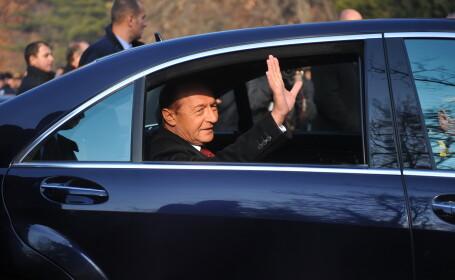 Presedintele Traian Basescu si sotia sa petrec Craciunul la Predeal