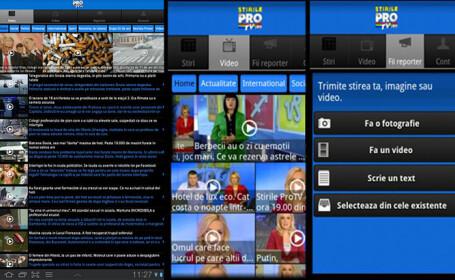 aplicatie stirileprotv.ro Android