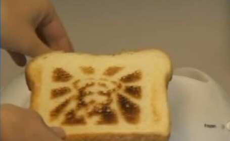 paine cu chipul lui Iisus