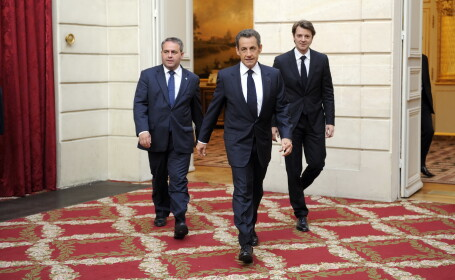 Francois Baroin, Nicolas Sarkozy
