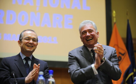 Emil Boc, Adriean Videanu si Ion Ariton, audiati la DNA Ploiesti in dosarul in care este urmarit penal Vasile Blaga