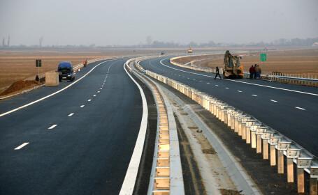 Tanar de 19 ani, prins in timp ce circula cu 214 km/h pe autostrada Bucuresti-Constanta