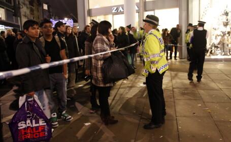Scena care a starnit panica in cel mai aglomerat loc din Londra, in cea mai agitata zi a anului