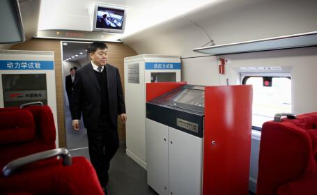 Intr-un an plin de accidente, China lanseaza un nou prototip-minune. Trenul care \