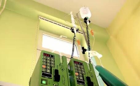 Sansa de a fi tratat corect, intr-o camera sterila, i-a salvat viata unui copil bolnav de leucemie