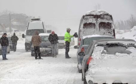 Iarna a pierdut din putere. Toate drumurile nationale au fost deschise circulatiei