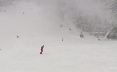 partie de schi, schiori