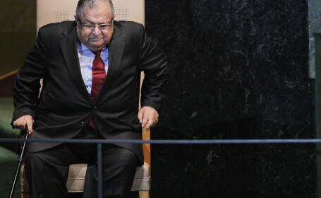 Presedintele Irakului a fost spitalizat. Televiziunea publica vorbeste de un atac cerebral