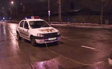 masina politie defecta