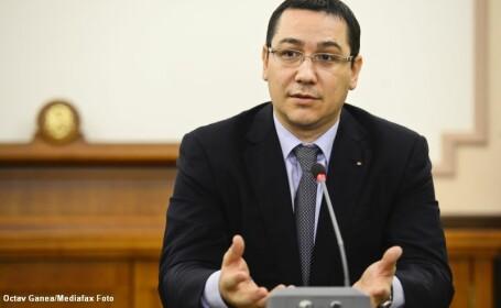 Victor Ponta: Coabitarea functioneaza foarte bine, eu ma ocup de paine, presedintele de circ