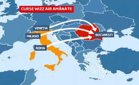 Alarma falsa cu bomba pe Otopeni. SRI a controlat doua avioane venite din Italia