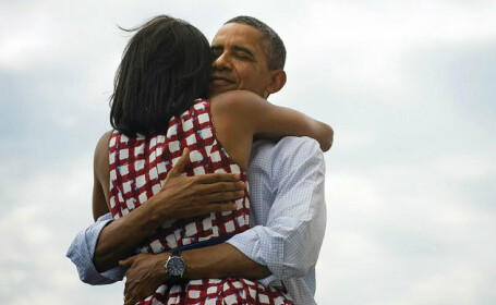 Primul interviu al sotilor Obama impreuna. \