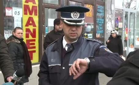 Firmele de paza, testate de politisti. In cat timp ajung la o banca unde s-a dat alarma de jaf