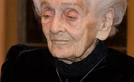 Rita Levi-Montalcini, laureata premiului Nobel pentru medicina, a murit