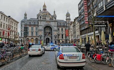 Patru copii romani, raniti intr-un accident rutier produs in Belgia. Erau urmariti de politie