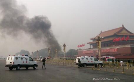 Saisprezece oameni au murit in China, inclusiv doi politisti, in urma unor violente in Xinjiang