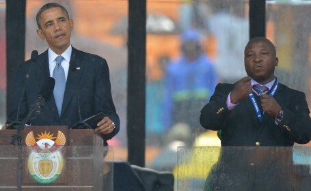 interpret, Mandela, Barack Obama