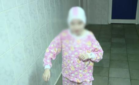 Prima minune pentru Adina, fata de 16kg din Romania care lupta sa-si recupereze 18 ani din viata