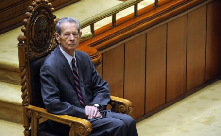 Regele Mihai in Parlament 2011