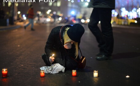 21 Decembrie, 24 de ani de la Revolutie. Protestele din Capitala s-au incheiat fara incidente majore