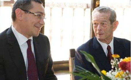 Victor Ponta, Regele Mihai