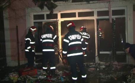 Club de noapte din Braila, distrus de un incendiu. Patronul crede ca focul a fost pus intentionat