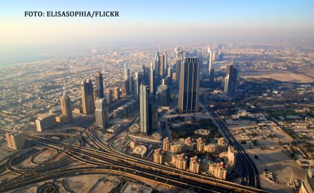 Dubai vazut de sus