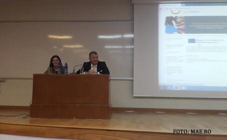 discurs amabasador romanin Armenia