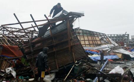Furia naturii, sub forma taifunului Hagupit: \
