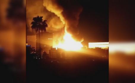 Incendiu SUA