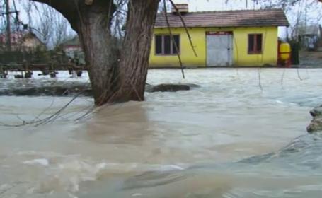 Situatie tragi-comica in Teleorman. Oamenii spun ca primarul a lasat ca apele sa vina peste ei pentru a isi salva pestii