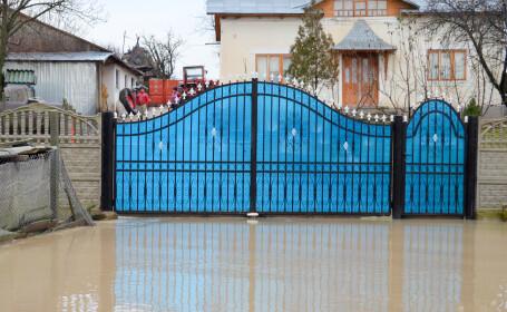 COD PORTOCALIU de inundatii in trei judete din tara. Care sunt zonele afectate