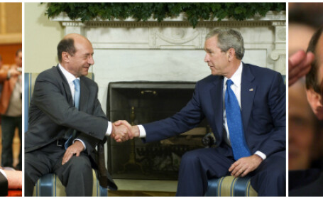 MULTIMEDIA: Traian Basescu, BEST OF. Rasete, plansete, jigniri si scandaluri in cei 10 ani petrecuti la Cotroceni