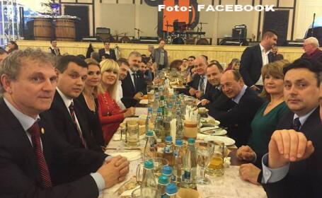 Traian Basescu la berarie