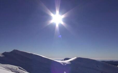 Soare la munte