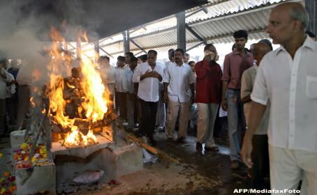 Incinerare in India