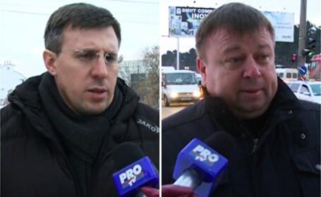 Imbranceli si injuraturi intre primarul Chisinaului si un edil de sector. VIDEO \