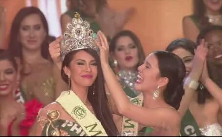 O tanara din Filipine a fost desemnata cea mai frumoasa femeie din lume. Angelia Ong lucreaza ca reporter pentru un site