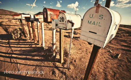 cutii de posta in SUA