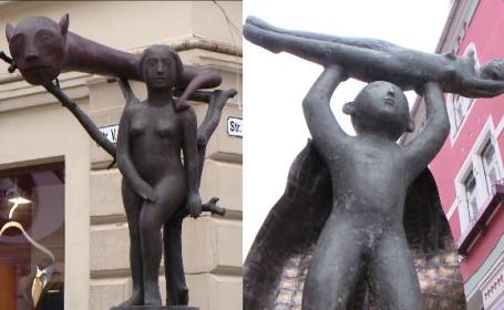 Controverse dupa amplasarea unor statui postmoderniste in centrul istoric al Timisoarei. Reactia localnicilor: \