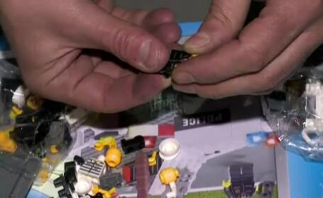 Pentru ei, omuletii Lego sunt o joaca in valoare de sute de mii de euro. \