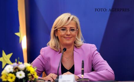Comisarul european pentru politici regionale, Corina Cretu