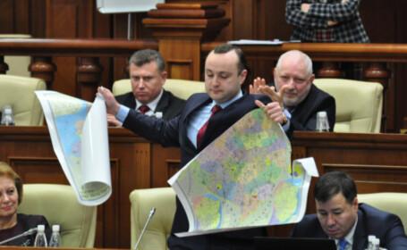 deputat moldovean rupe harta ROmaniei