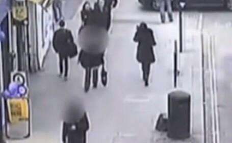 Acoperisul unei cladiri din Londra s-a prabusit pe un bulevard plin de pietoni. Ce s-a intamplat. VIDEO