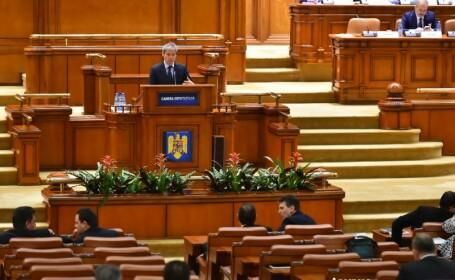 Dacian Ciolos, discurs in Parlament