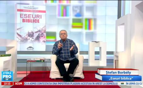 Dan C. Mihailescu, imagine din emisiune