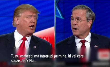 Donald Trump, atacat de un contracandidat in dezbaterea republicanilor in cursa pentru Casa Alba: \